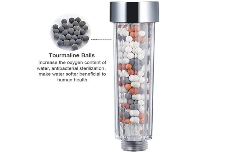 Mineral-Showerhead-and-its-Filter-Beads, Everything you Need to Know About the Mineral Showerhead and its Filter Beads