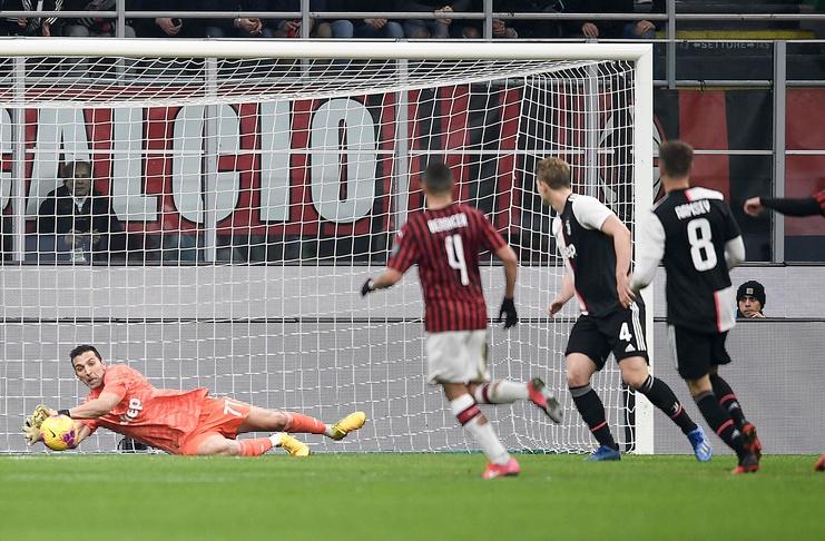 Coppa Italia - AC Milan vs Juventus - @juventusfcen