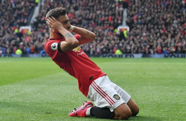 Hasil Manchester United vs Watford: Gol Perdana Bruno Fernandes