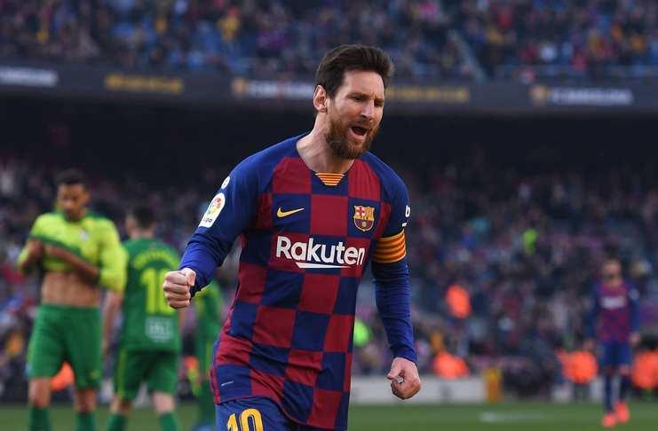 Hasil Barcelona vs Eibar: Messi Quattrick, El Barca Gusur Real Madrid