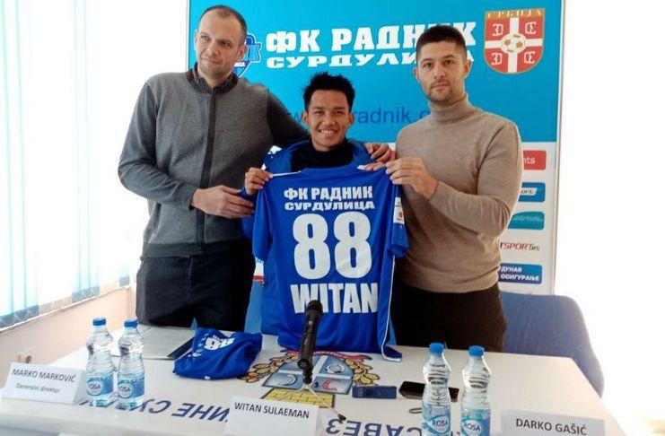 Media Serbia Witan Sulaiman Radnik Surdulica Crvena Zvezda dan Partizan Belgrade - FK Radnik