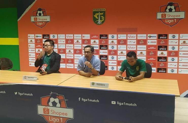 Pelatih Persebaya Aji Santoso Sebut Persik Main Parkir Bus Liga 1 2020 - Indra