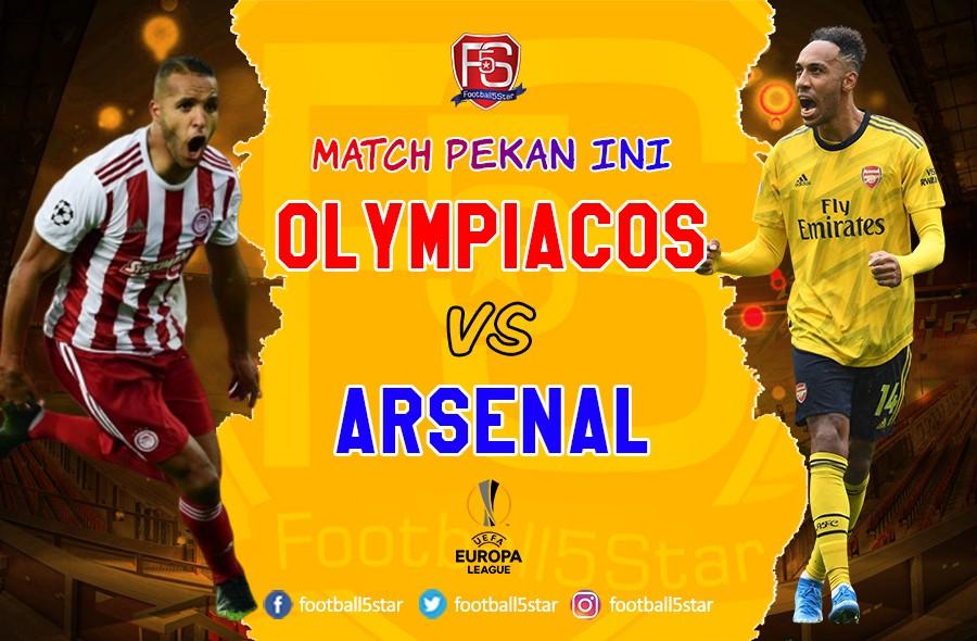 Prediksi Olympiakos vs Arsenal