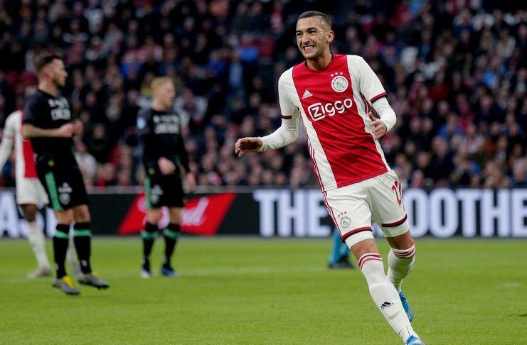 Rafael van der Vaart - Hakim Ziyech - Ajax - Chelsea - Football London