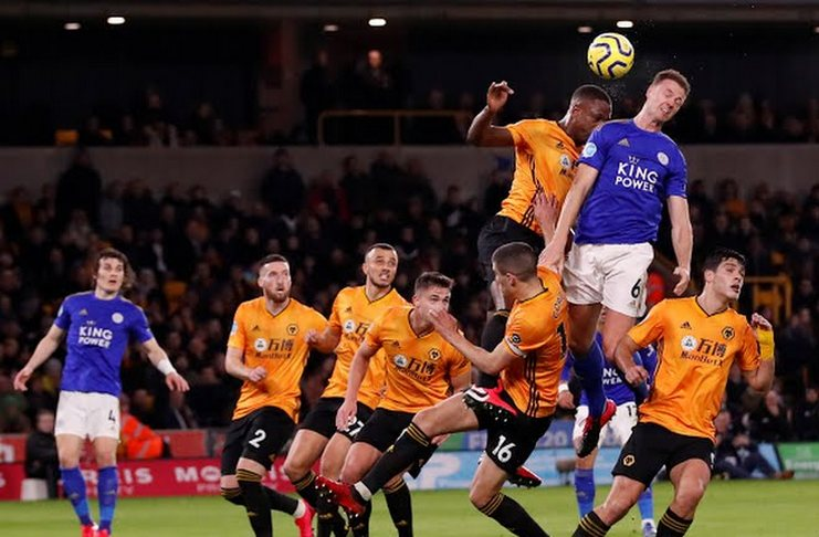 Wolves vs Leicester - Premier League - @Reuters - Man City