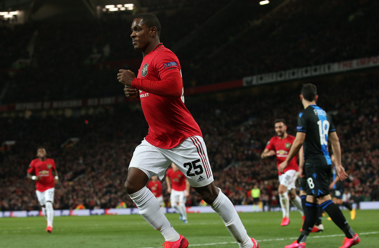 manchester united vs club brugge-odion ighalo