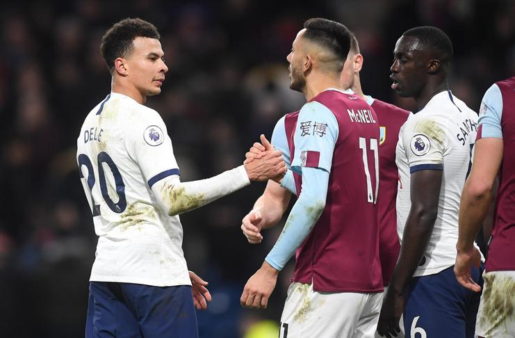 Dele Alli - Tottenham - Burnley - @premierleague