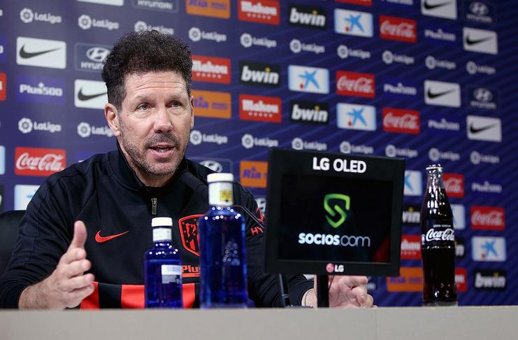 Diego Simeone - Atletico Madrid - Sevilla - @atleti - Suso