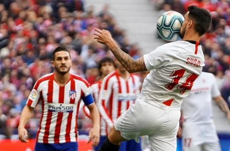 Atletico Madrid vs Sevilla Getty Images