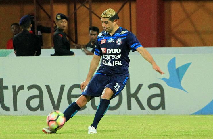 Esteban Vizcarra Arema Goal