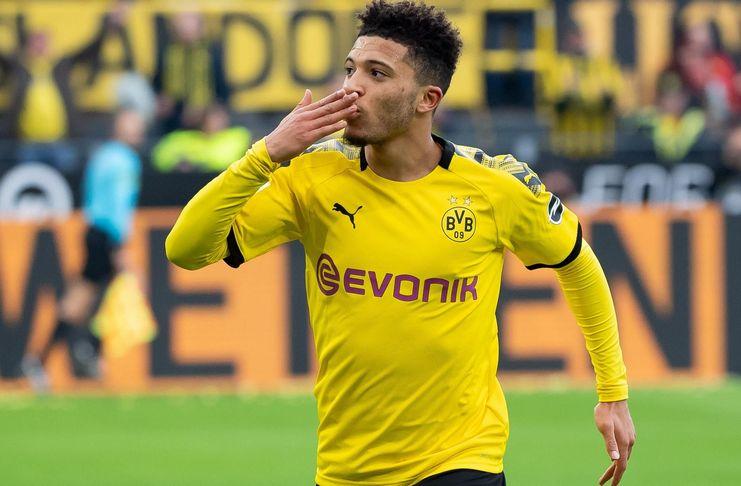 Jadon Sancho - Borussia Dortmund - Manchester United - Eurosport