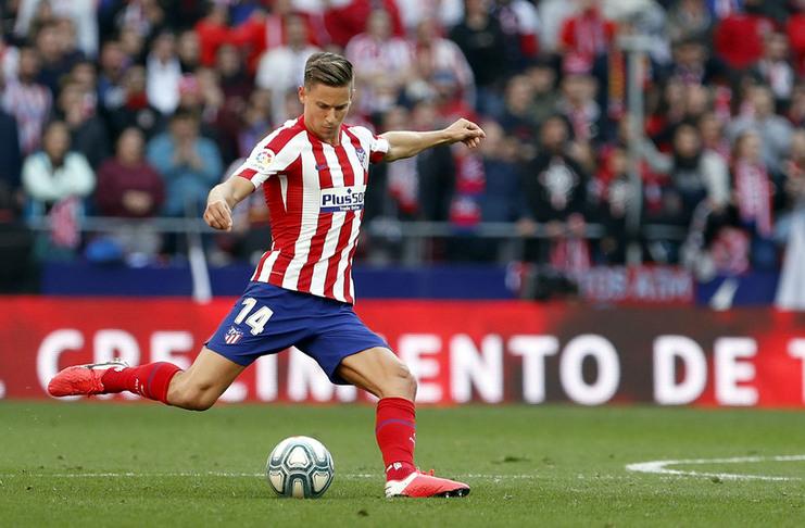 Marcos Llorente - Atletico Madrid - Sevilla - atleticodemadrid. com