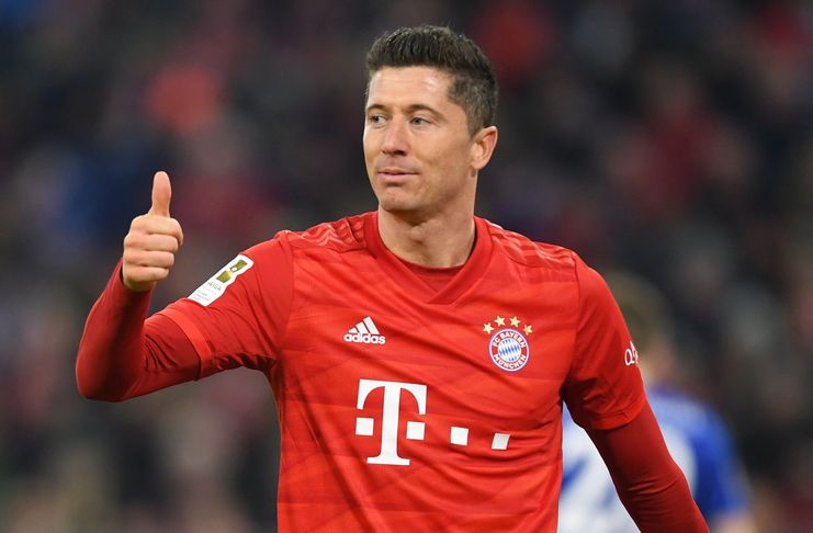 Robert Lewandowski - Bayern Munich - Real Madrid - Yahoo Sports