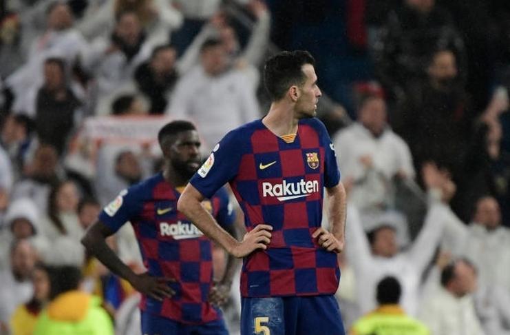 Sergio Busquets - Real Madrid - Barcelona - El Clasico - Getty Images