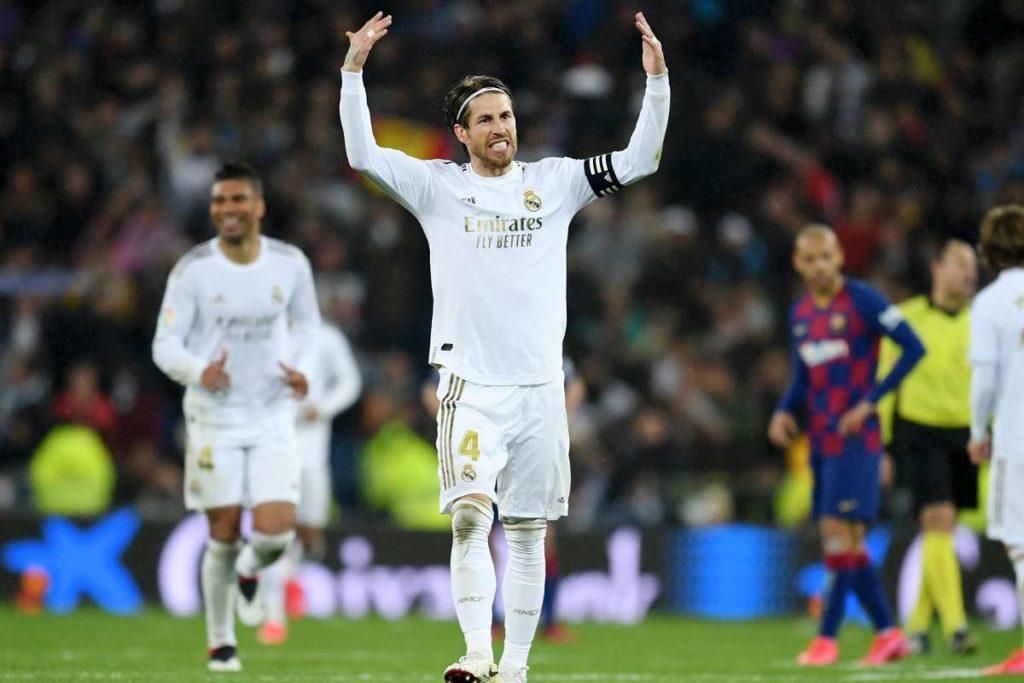 Sergio Ramos Puji Performa Real Madrid di El Clasico