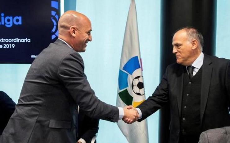 beda Pendapat Soal Keberlangsungan Liga Spanyol