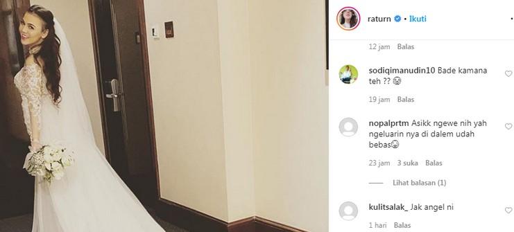 Instagram Istri Pemain Persija Dipenuhi Kalimat Tak Senonoh
