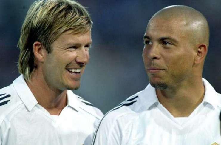 Bahasa Inggris Ronaldo Lancar Saat Minum Wine, Beckham Tertawa