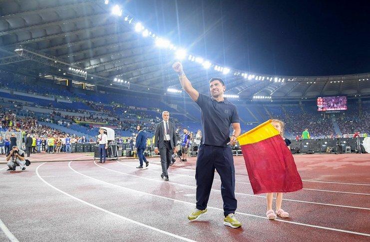 David Pizarro - AS Roma - Scudetto - @asromaen