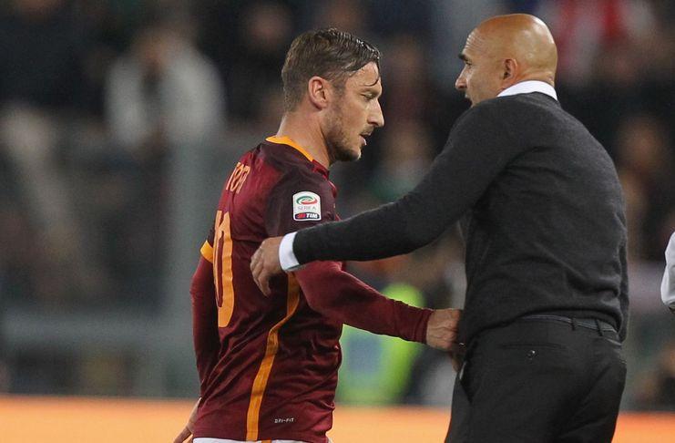 Luciano Spalletti - AS Roma - David Pizarro - Chiesa di Totti 2