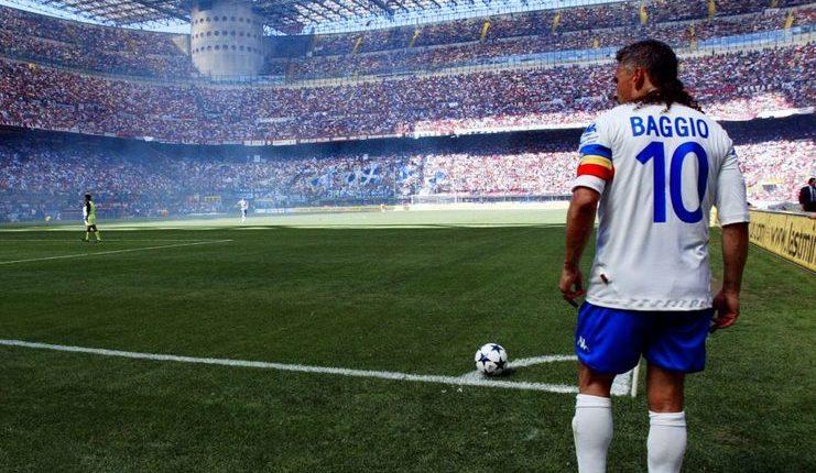 Nomor kostum 10 tak lagi digunakan Brescia sejak Roberto Baggio pensiun.