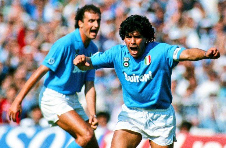 Napoli - Nostalgia Hari Ini Diego Maradona Terbukti Sebagai Pecandu Narkoba - @VintageFooty - argentina