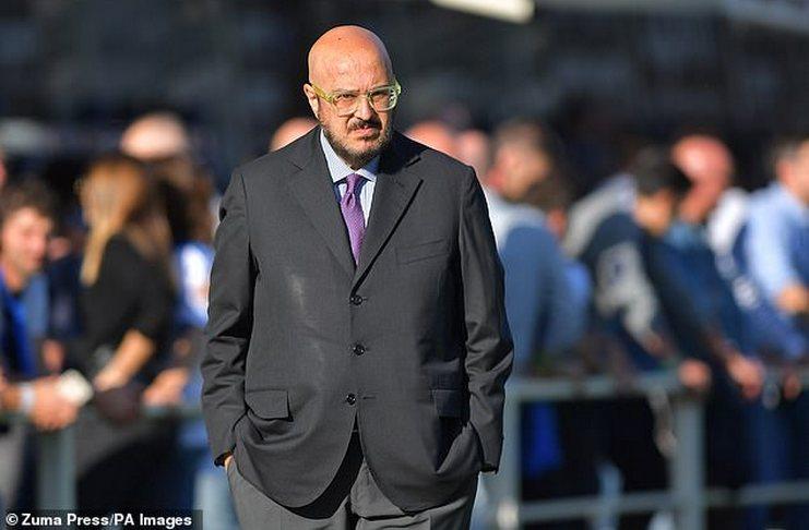 Pierpaolo Marino - Liga Inggris - UEFA - Daily Mail