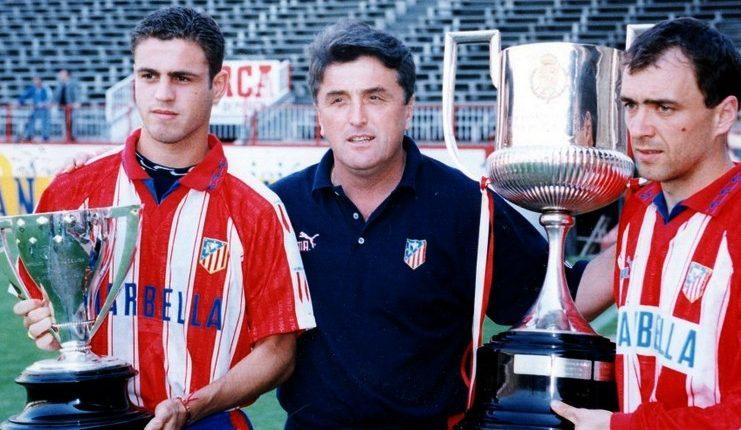 Radomir Antic membawa Atletico Madrid menjuarai LaLiga dan Copa del Rey musim 1995-96.