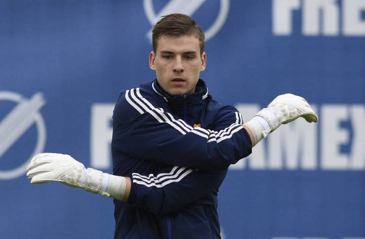 Thibaut Courtois - Real Madrid - Andriy Lunin - Sports Finding