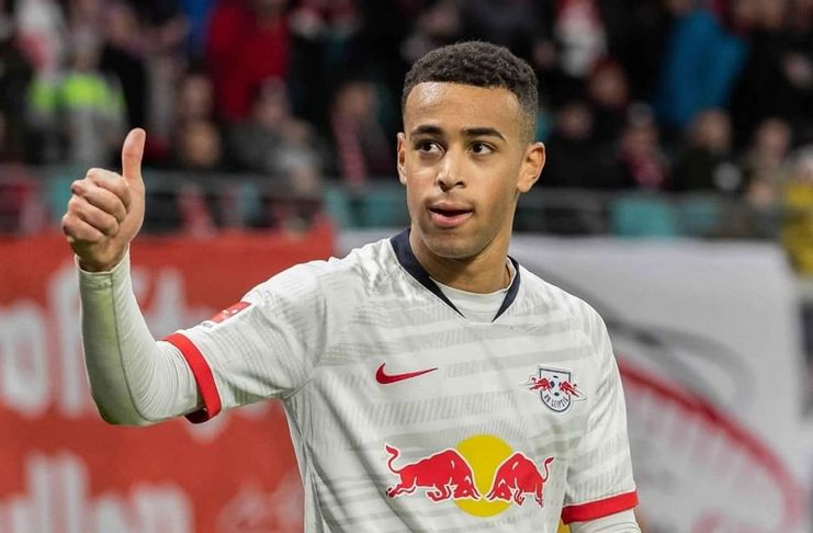 Tyler Adams - RB Leipzig - @tyler_adams14 2