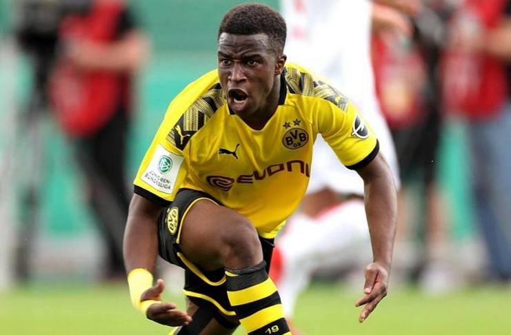 Youssoufa Moukoko - Dortmund - Erling Haaland - Reviersport. jpg