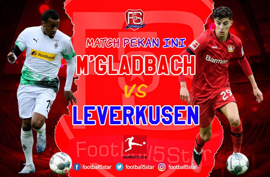 Prediksi Borussia Moenchengladbach vs Bayer Leverkusen