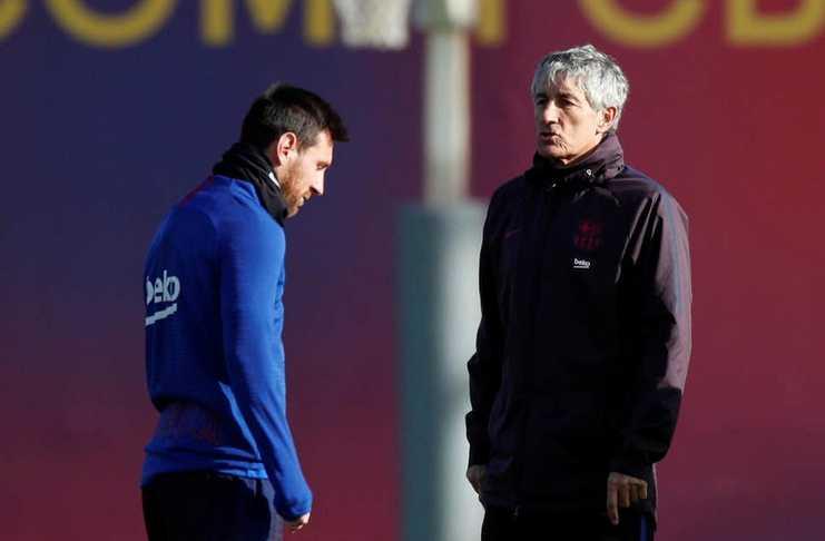 Quique Setien - Neymar - Barcelona - London Evening Standard