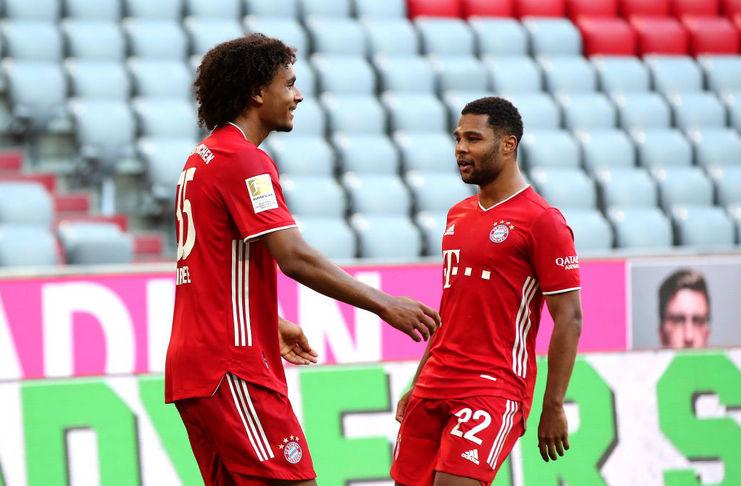 Bayern vs Gladbach - Liga Jerman - @optajohan