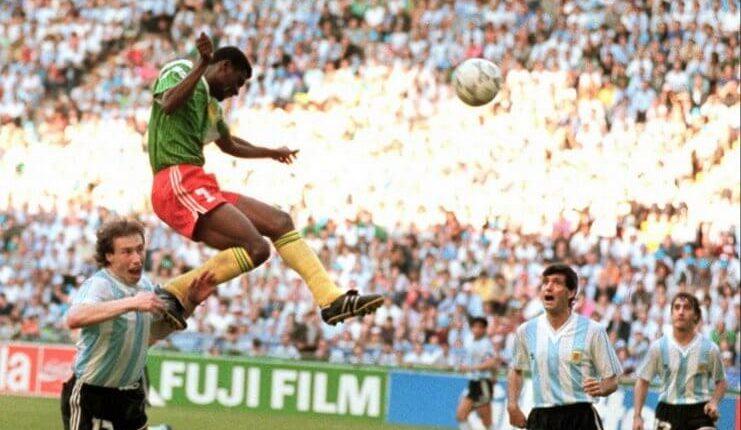 """Gol kemenangan oleh Francois Omam Biyik sesuai dengan prediksi Thomas N 'Kono. """"Class ="""" wp-image-315250"""
