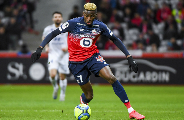 Victor Osimhen - Lille - RMC Sport