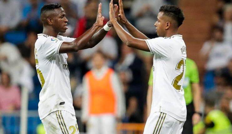 "Vinicius Junior dan Rodrygo Goes percaya Ronaldo akan menjadi andalan Real Madrid di masa depan. ""Class ="" wp-image-318022"