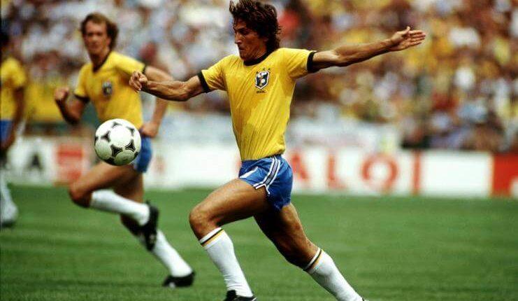 Zico gagal mengantar timnas Brasil juara Piala Dunia 1982.