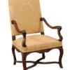 Regence Style Walnut Armchair