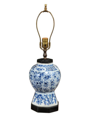 18th Century Delft Lamp
