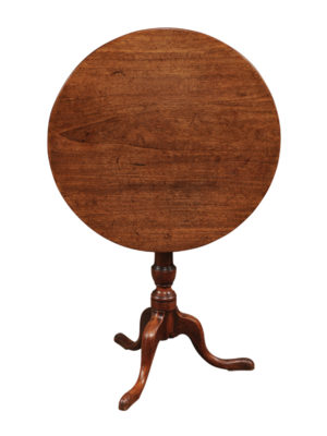 18th Century English Mahogany Tilt-Top Table