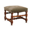 Louis XIII Style Walnut Stool