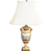Paris Porcelain Lamp