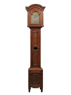 French Tallcase Clock in Oak