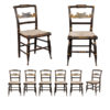 Set of 8 Sheraton Dining Chairs