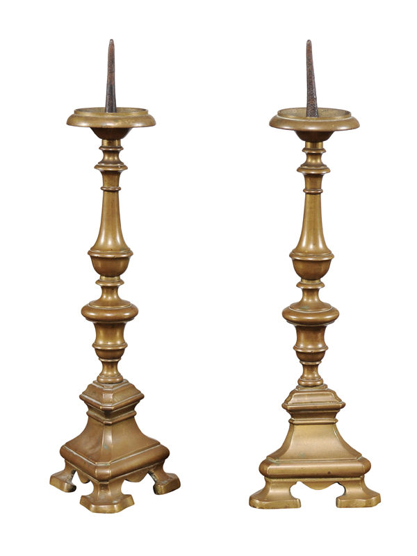 Pair 18th Century French Candlesticks