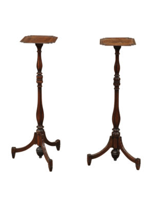 Pair of George IV Style Candlestands
