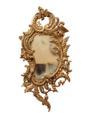 19th Century Rococo Style Mirror