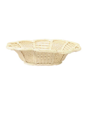 Cream Reticulated Basket