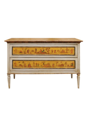 Neoclassical Style Painted Commode